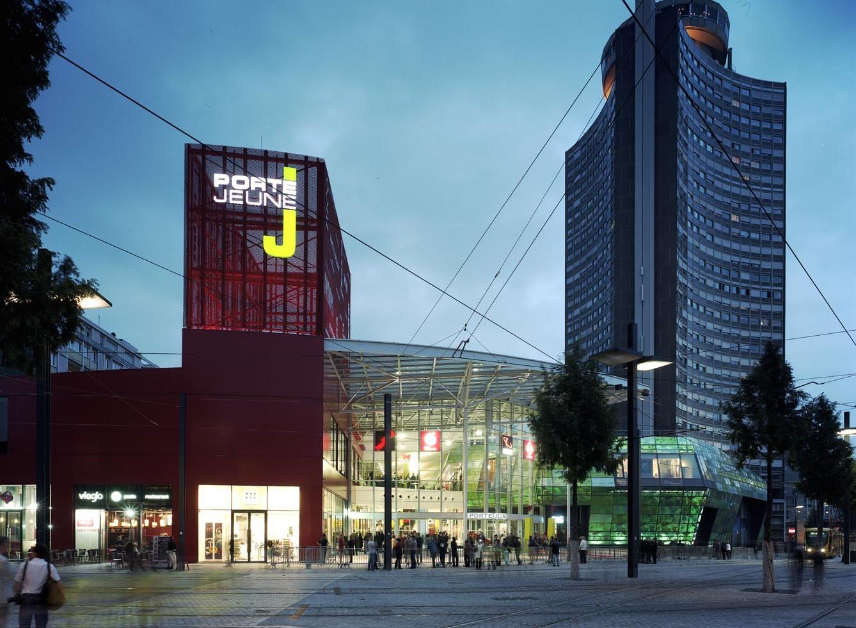 centre commercial porte jeune 68 toa architectes associ s. Black Bedroom Furniture Sets. Home Design Ideas