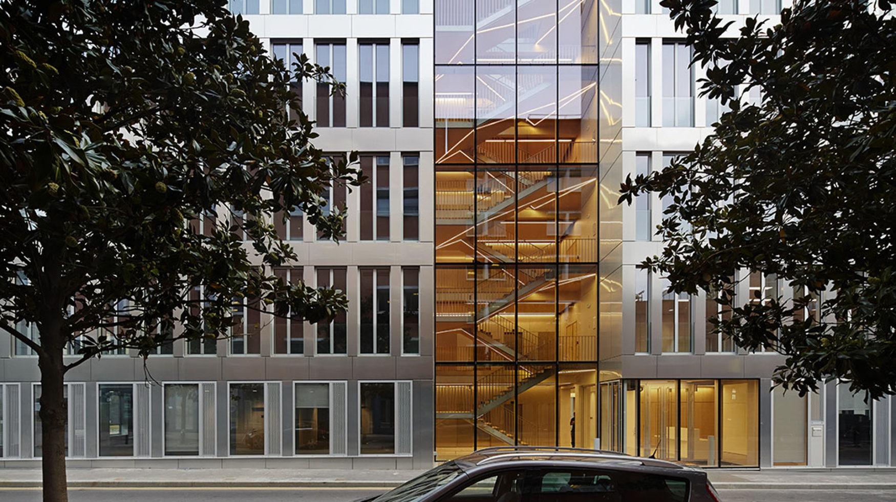 Immeuble tertiaire digital 93 toa architectes associés
