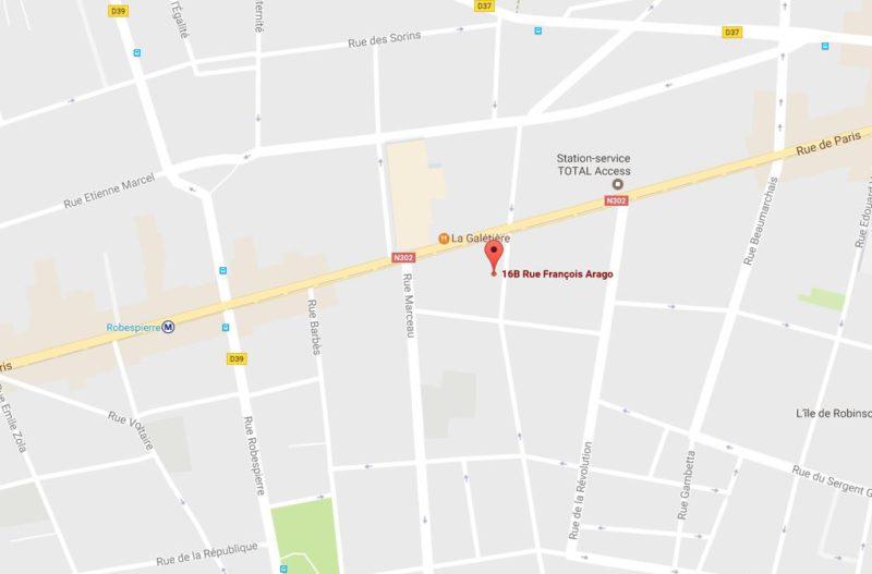 TOA Paris déménage_Plan d'accès