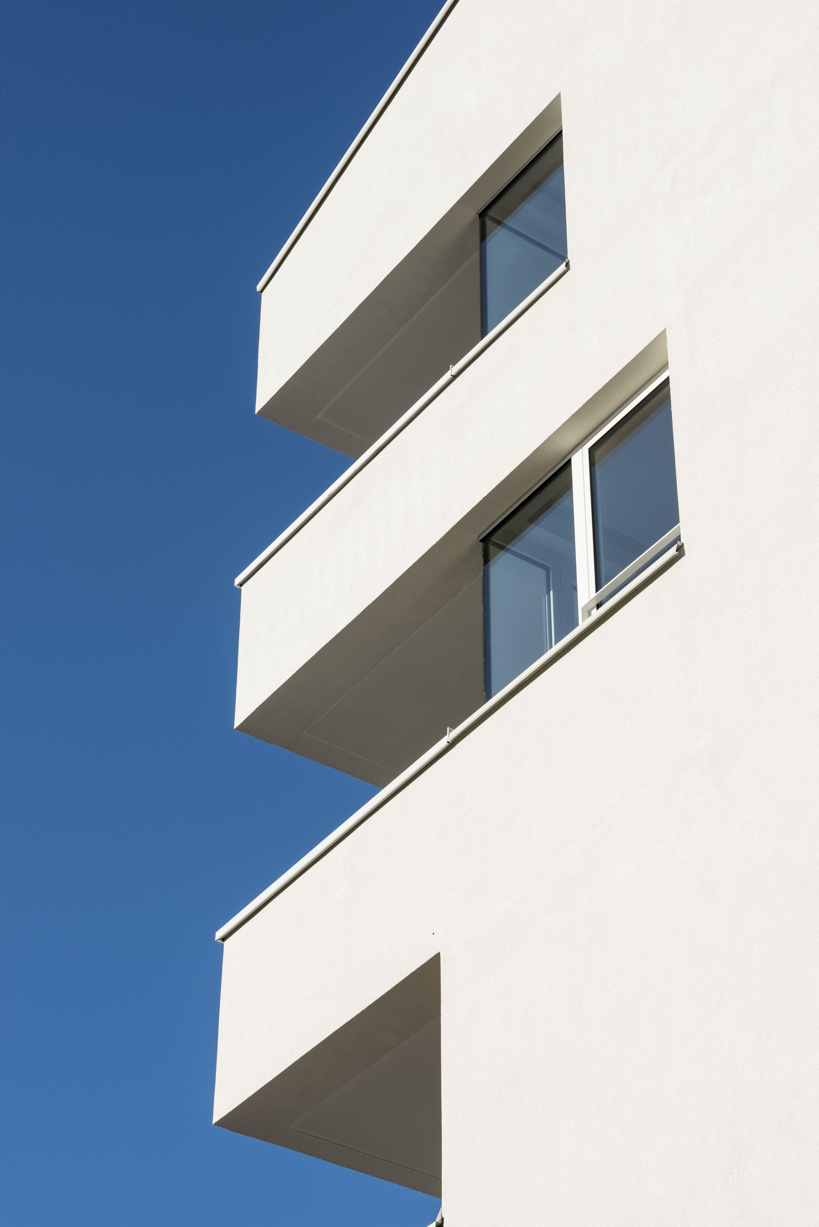 32 Logements BBC à Lingolsheim détail balcon