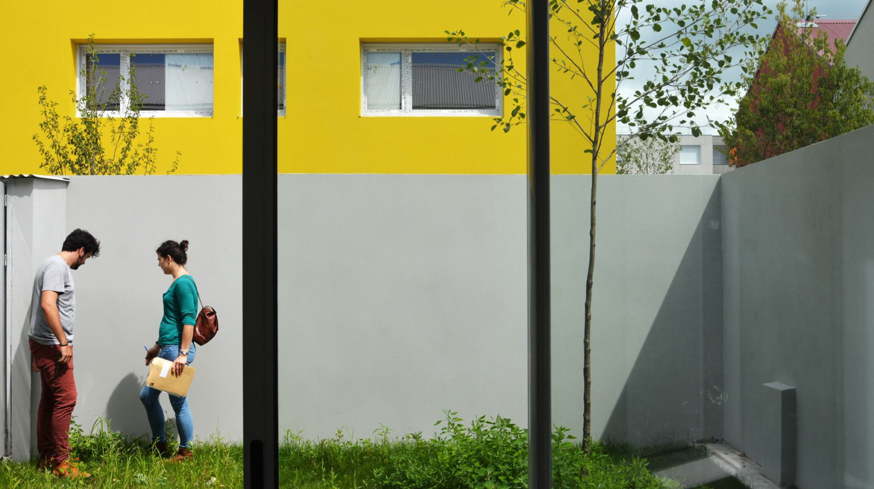 TOA architectes Folies Lormont - visite des futurs locataires - jardin2
