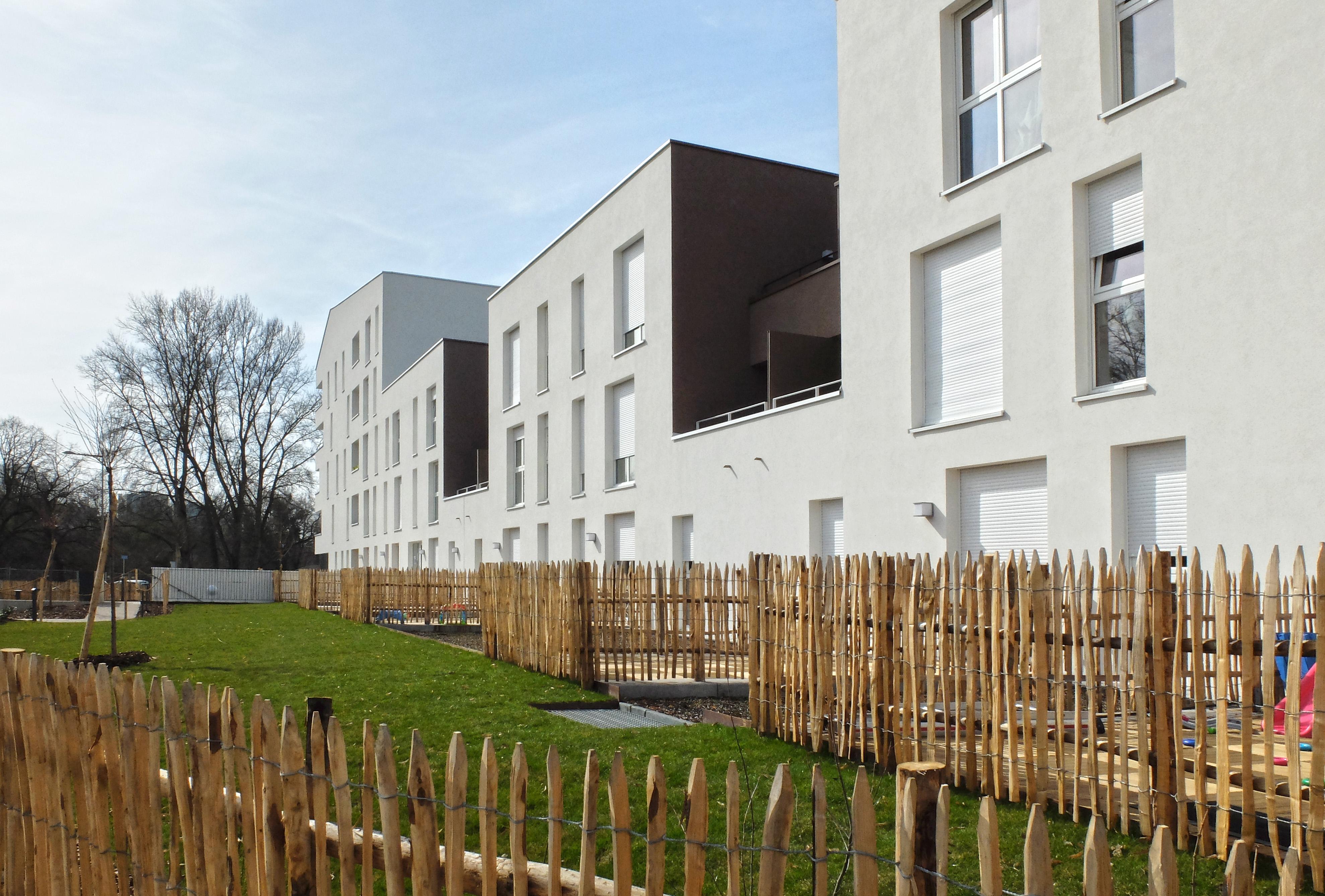 32 Logements BBC à Lingolsheim habiter le parc